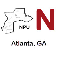 NPU-N includes the following Atlanta, GA neighborhoods: Cabbagetown, Candler Park, Druid Hills, Inman Park, Lake Claire, Little 5 Points, Poncey-Highland, Reynoldstown